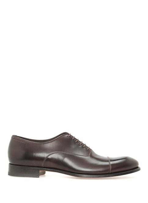 Beymen Collection %100 Deri Bağcıklı Klasik Ayakkabı Kahve